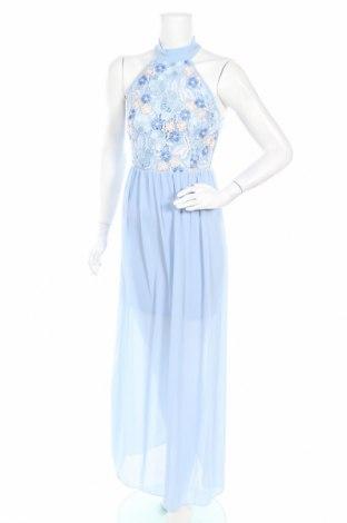 Φόρεμα Wal G, Μέγεθος M, Χρώμα Μπλέ, 95% πολυεστέρας, 5% ελαστάνη, Τιμή 21,43€
