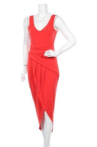 Φόρεμα Wal G, Μέγεθος M, Χρώμα Κόκκινο, 95% πολυεστέρας, 5% ελαστάνη, Τιμή 29,44€