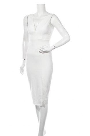 Φόρεμα Wal G, Μέγεθος M, Χρώμα Λευκό, 95% πολυεστέρας, 5% ελαστάνη, Τιμή 8,87€