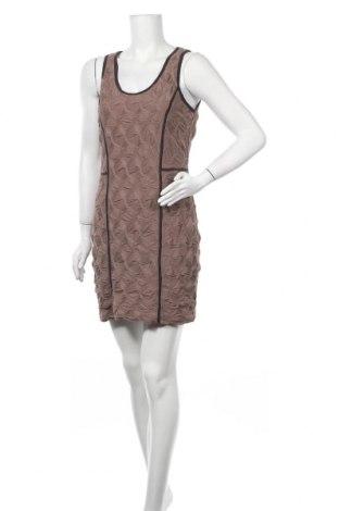 Рокля Wow Couture, Размер L, Цвят Кафяв, Полиестер, Цена 24,99лв.