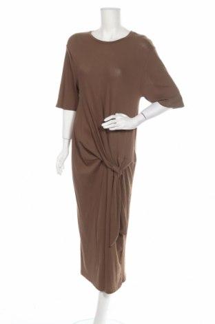 Φόρεμα Zara Trafaluc, Μέγεθος M, Χρώμα Πράσινο, 97% βαμβάκι, 3% ελαστάνη, Τιμή 36,40€