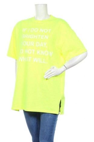 Τουνίκ Tally Weijl, Μέγεθος M, Χρώμα Πράσινο, 52% πολυεστέρας, 48% βαμβάκι, Τιμή 12,96€