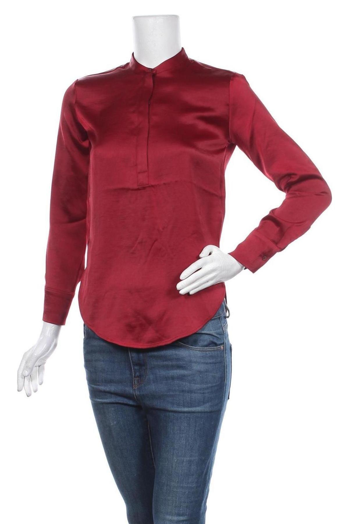 Γυναικεία μπλούζα Banana Republic, Μέγεθος XXS, Χρώμα Κόκκινο, Πολυεστέρας, Τιμή 27,83€