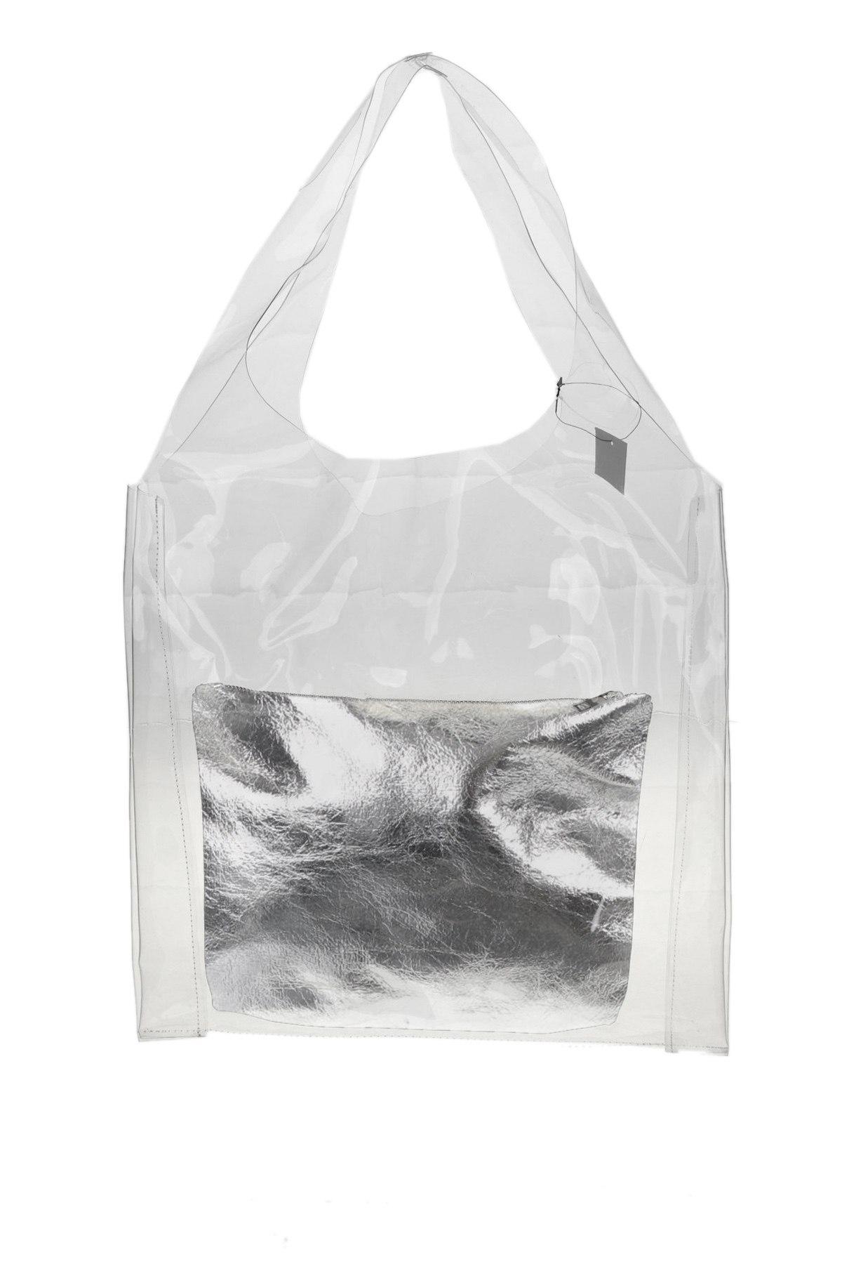 Дамска чанта Reserved, Цвят Бял, Полиуретан, Цена 36,75лв.