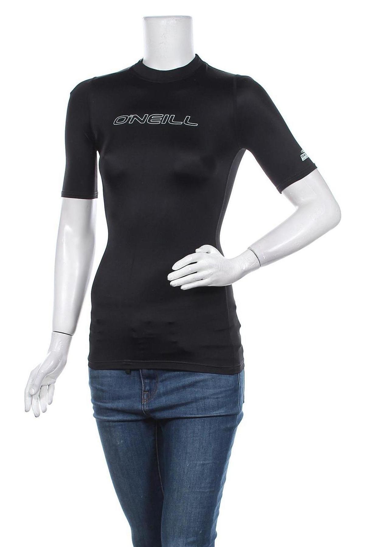 Дамска тениска O'neill, Размер XS, Цвят Черен, 82% полиамид, 18% еластан, Цена 13,72лв.