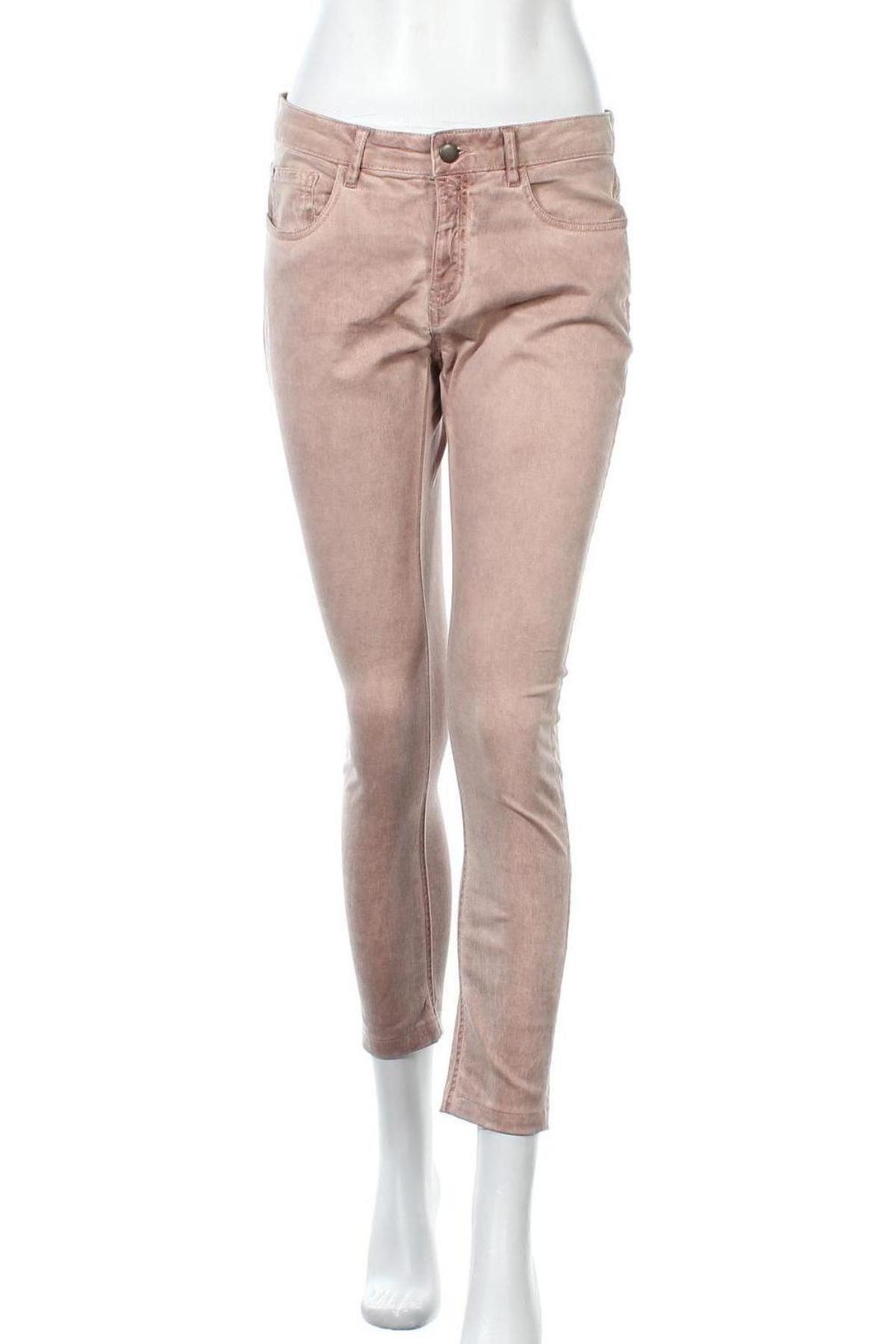 Дамски панталон B.C. Best Connections, Размер M, Цвят Розов, 97% памук, 3% еластан, Цена 18,90лв.