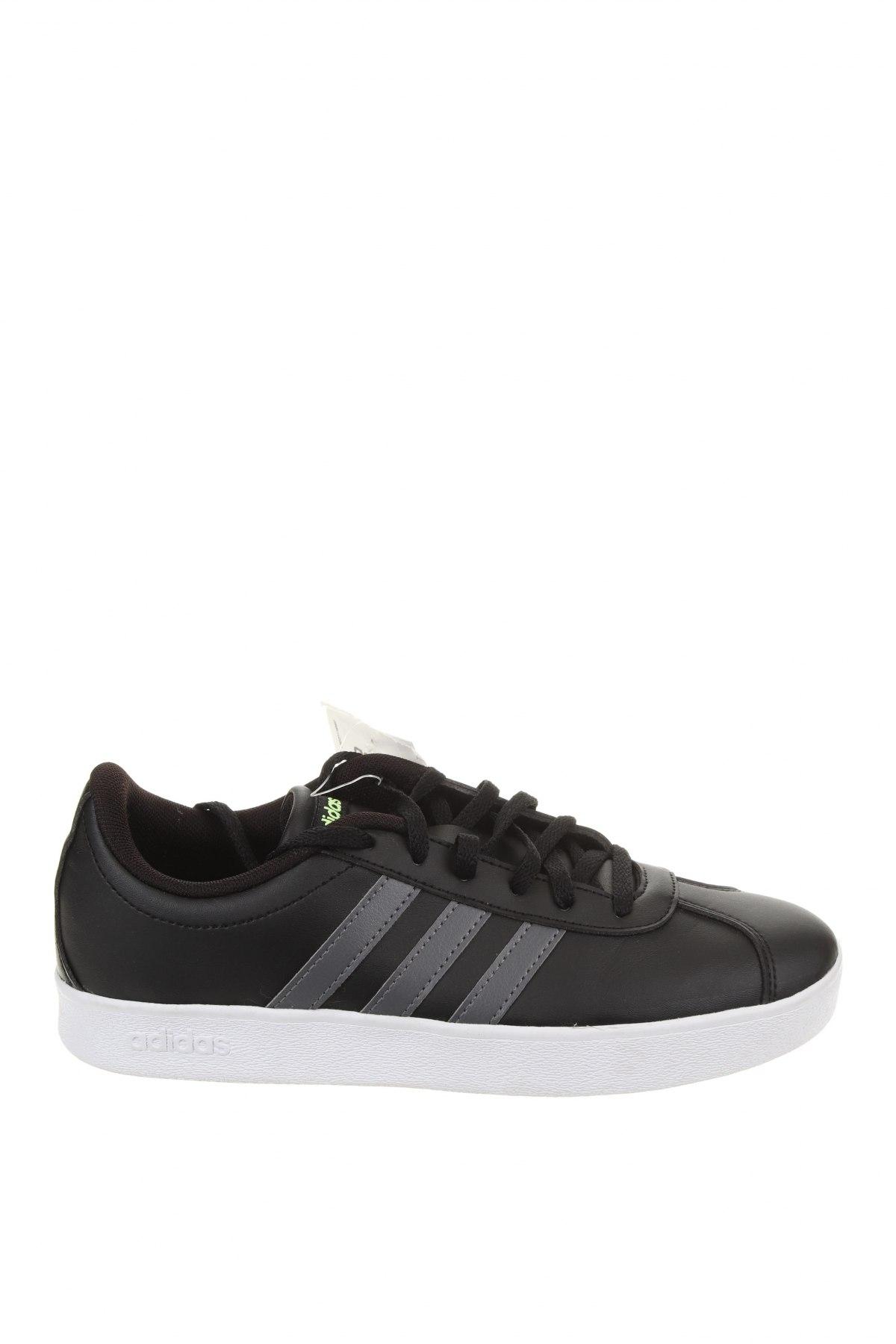 Детски обувки Adidas, Размер 37, Цвят Черен, Еко кожа, Цена 49,17лв.