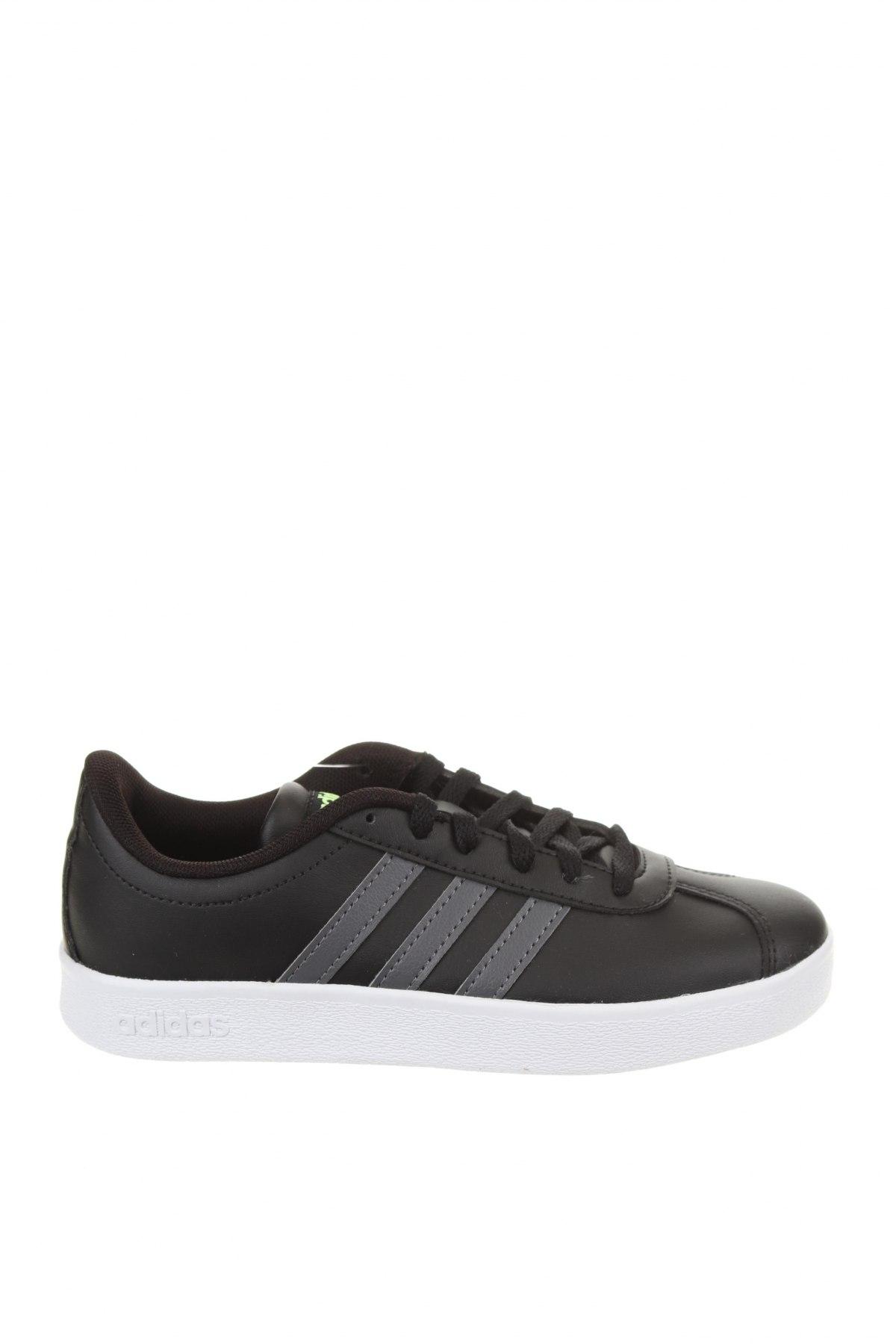 Детски обувки Adidas, Размер 33, Цвят Черен, Еко кожа, Цена 44,70лв.