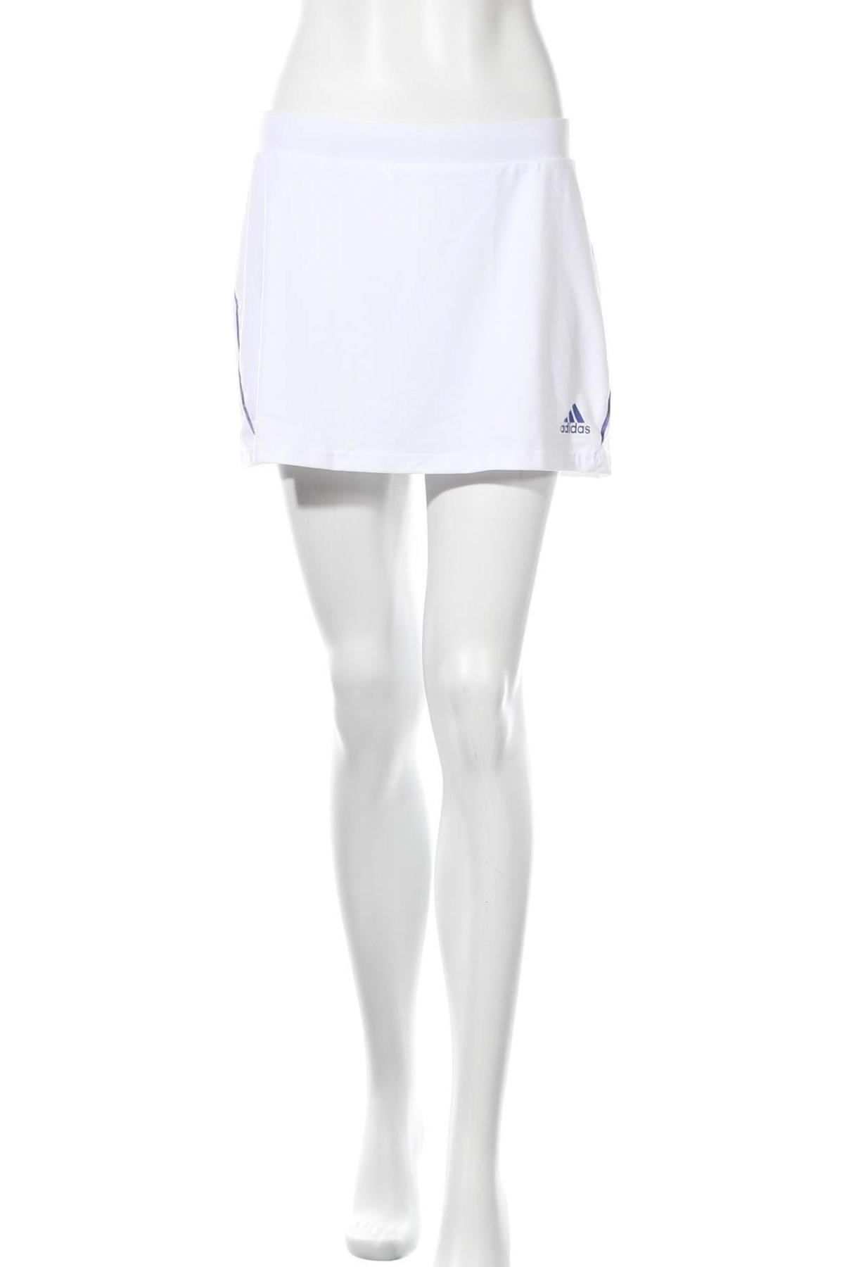 Пола - панталон Adidas, Размер L, Цвят Бял, 82% полиестер, 18% еластан, Цена 23,70лв.