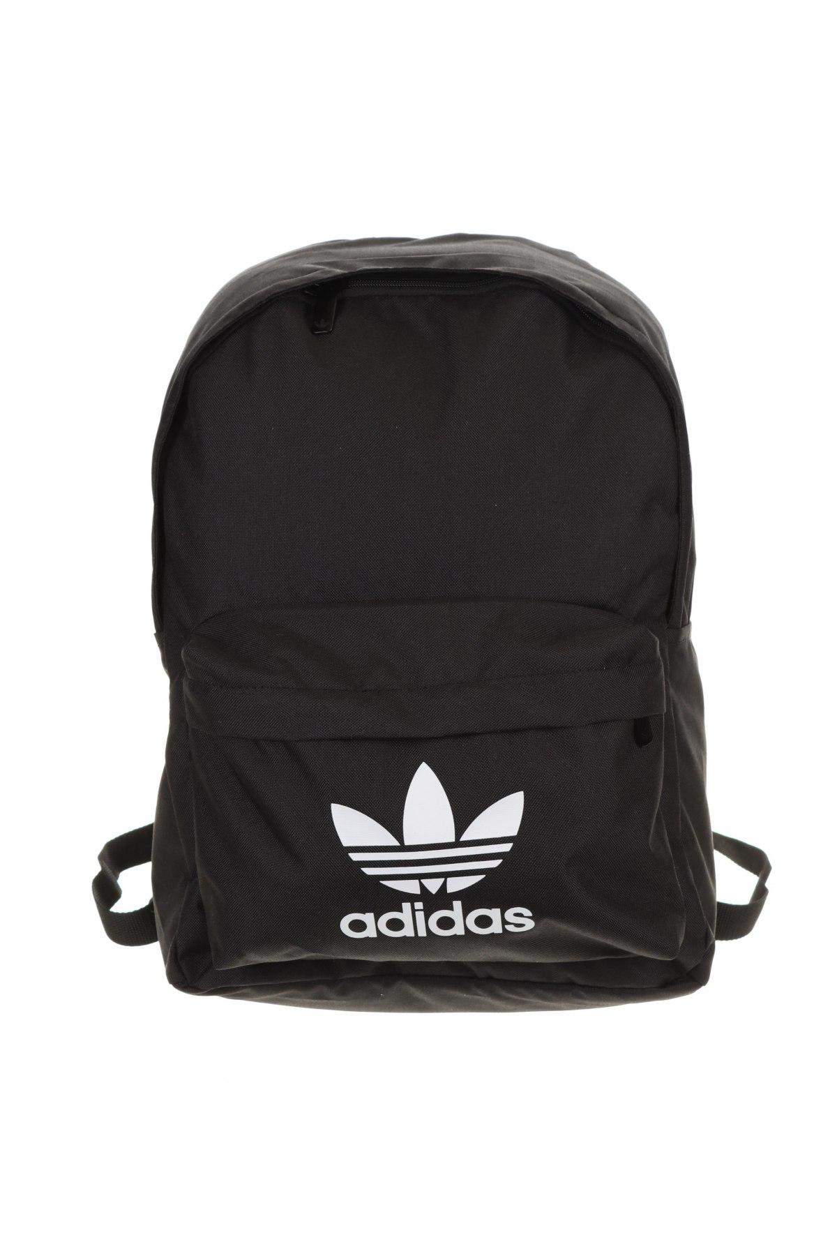 Раница Adidas Originals, Цвят Черен, Текстил, Цена 59,25лв.