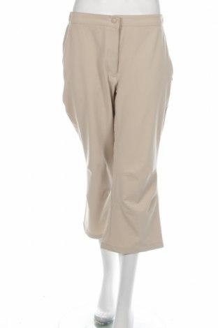 Дамски спортен панталон Crane, Размер L, Цвят Бежов, 88% полиестер, 12% еластан, Цена 3,12лв.