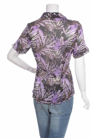 Γυναικείο πουκάμισο Canda, Μέγεθος L, Χρώμα Βιολετί, Πολυεστέρας, Τιμή 9,28€