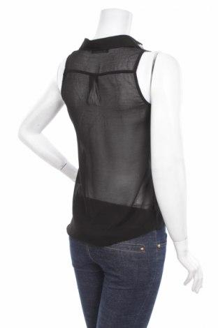 Γυναικείο πουκάμισο Famous, Μέγεθος S, Χρώμα Μαύρο, Πολυεστέρας, Τιμή 10,52€