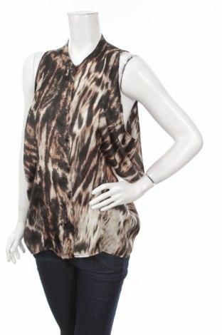 Γυναικείο πουκάμισο H&M, Μέγεθος L, Χρώμα Καφέ, 100% πολυεστέρας, Τιμή 9,90€