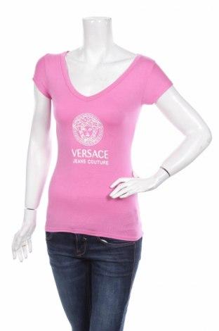 Damski T-shirt Versace