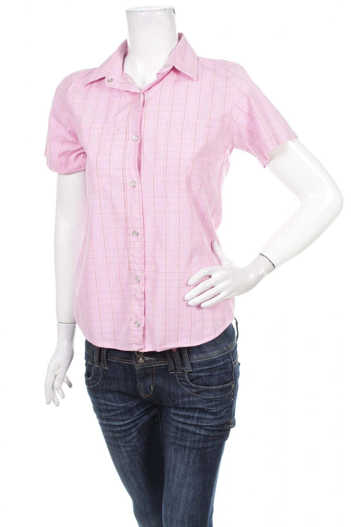 Γυναικείο πουκάμισο Four Elements, Μέγεθος M, Χρώμα Ρόζ , 100% βαμβάκι, Τιμή 9,28€