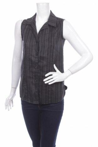 Γυναικείο πουκάμισο, Μέγεθος M, Χρώμα Μαύρο, Τιμή 3,91€