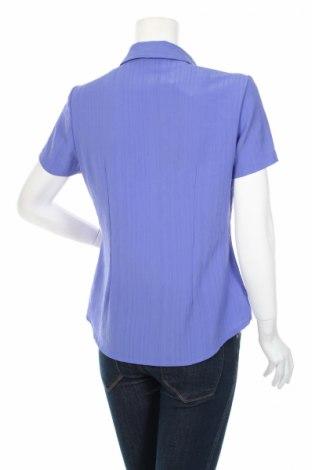 Γυναικείο πουκάμισο Berkertex, Μέγεθος L, Χρώμα Βιολετί, Πολυεστέρας, Τιμή 10,82€