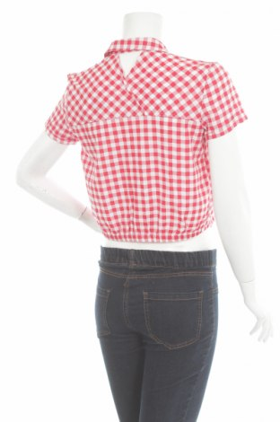 Γυναικείο πουκάμισο Bershka, Μέγεθος M, Χρώμα Κόκκινο, Τιμή 10,82€