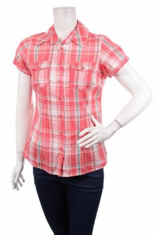 Γυναικείο πουκάμισο Okay, Μέγεθος S, Χρώμα Πολύχρωμο, 99% βαμβάκι, 1% μεταλλικά νήματα, Τιμή 11,13€