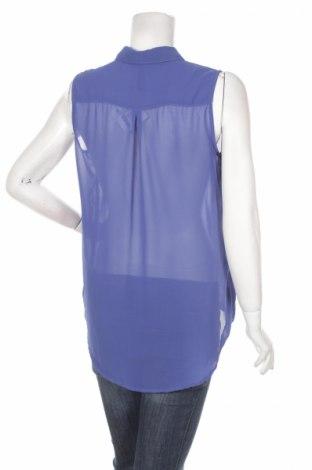 Γυναικείο πουκάμισο Page One, Μέγεθος L, Χρώμα Μπλέ, Πολυεστέρας, Τιμή 9,28€