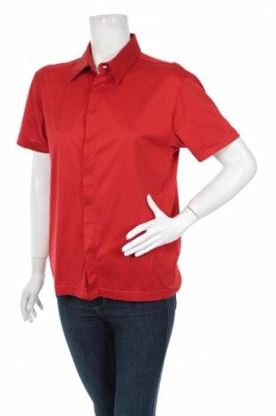 Γυναικείο πουκάμισο Steilmann, Μέγεθος L, Χρώμα Κόκκινο, 100% βαμβάκι, Τιμή 13,75€