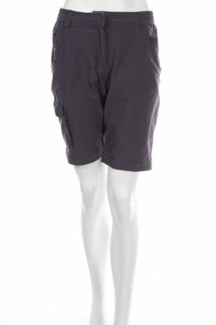 Γυναικείο κοντό παντελόνι TCM, Μέγεθος S, Χρώμα Γκρί, 95% πολυαμίδη, 5% ελαστάνη, Τιμή 10,57€