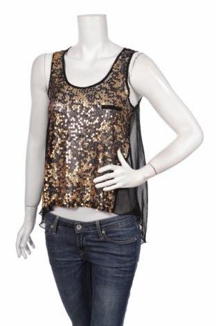 Γυναικείο αμάνικο μπλουζάκι Qed London, Μέγεθος S, Χρώμα Μαύρο, Τιμή 3,34€
