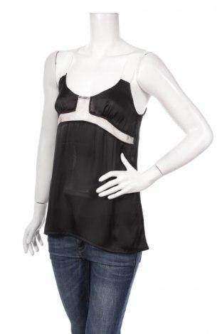 Γυναικείο αμάνικο μπλουζάκι Usco, Μέγεθος M, Χρώμα Μαύρο, 100% πολυεστέρας, Τιμή 2,41€