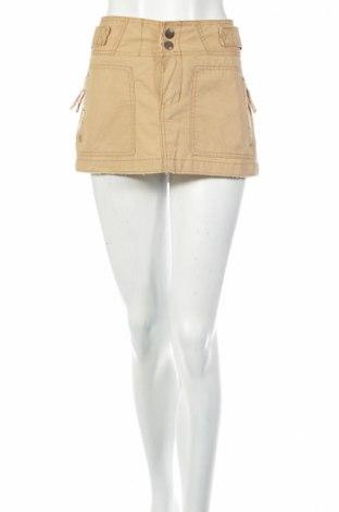 Пола Abercrombie & Fitch, Размер M, Цвят Бежов, 100% памук, Цена 6,30лв.