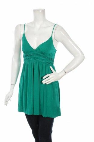 Tunică 21, Mărime M, Culoare Verde, 95% viscoză, 5% elastan, Preț 17,35 Lei