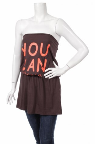 Туника Dress Code, Размер M, Цвят Кафяв, 95% вискоза, 5% еластан, Цена 5,25лв.