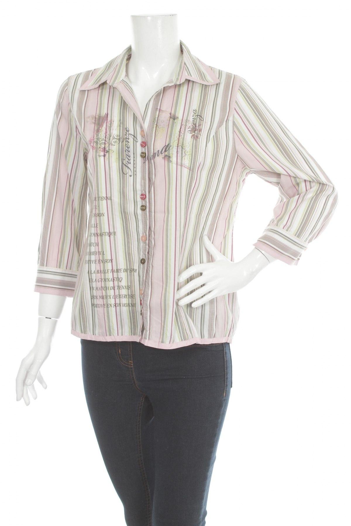 Γυναικείο πουκάμισο Bonita, Μέγεθος S, Χρώμα Πολύχρωμο, Τιμή 18,56€