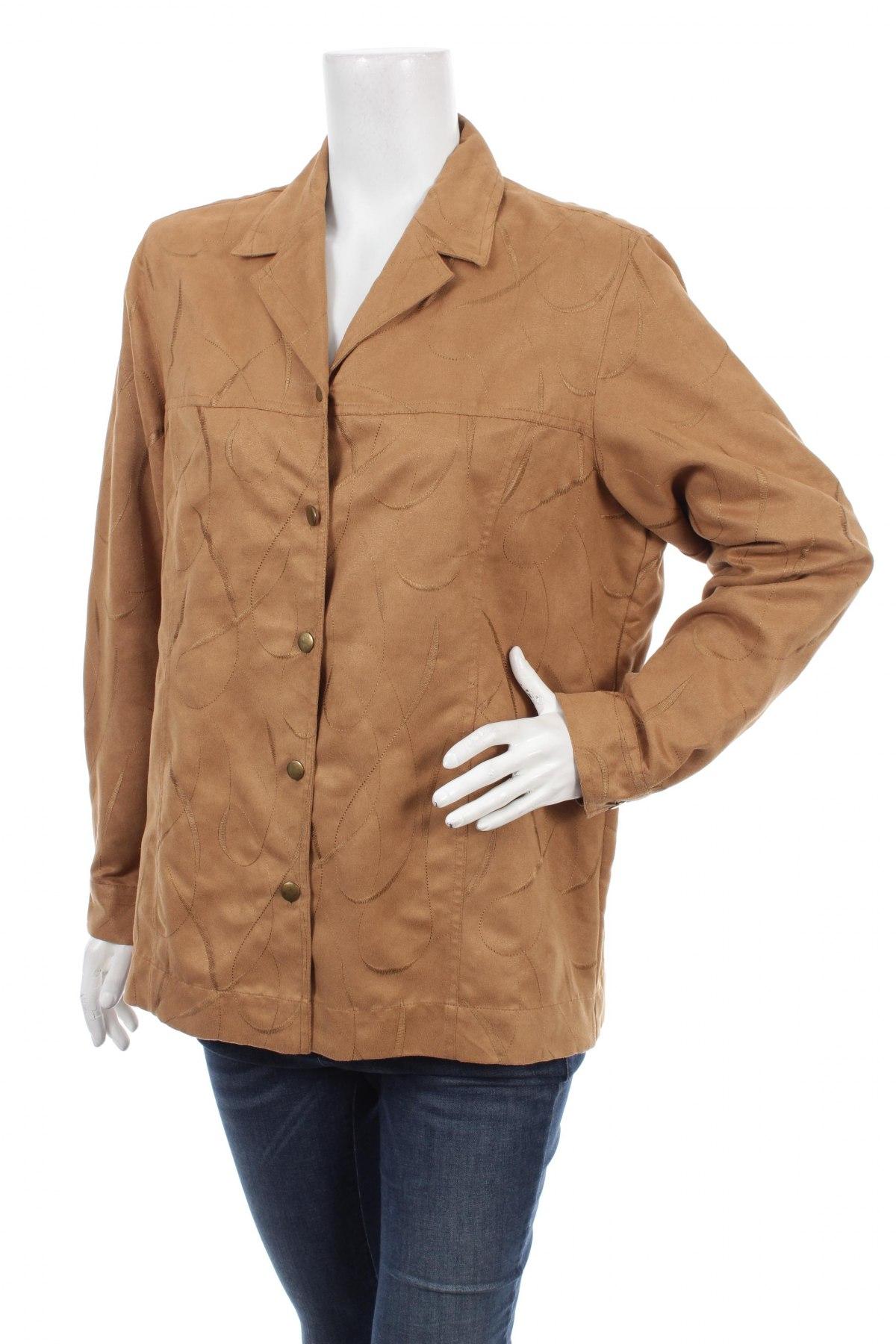 Γυναικείο πουκάμισο Bonita, Μέγεθος L, Χρώμα  Μπέζ, 100% πολυεστέρας, Τιμή 21,13€