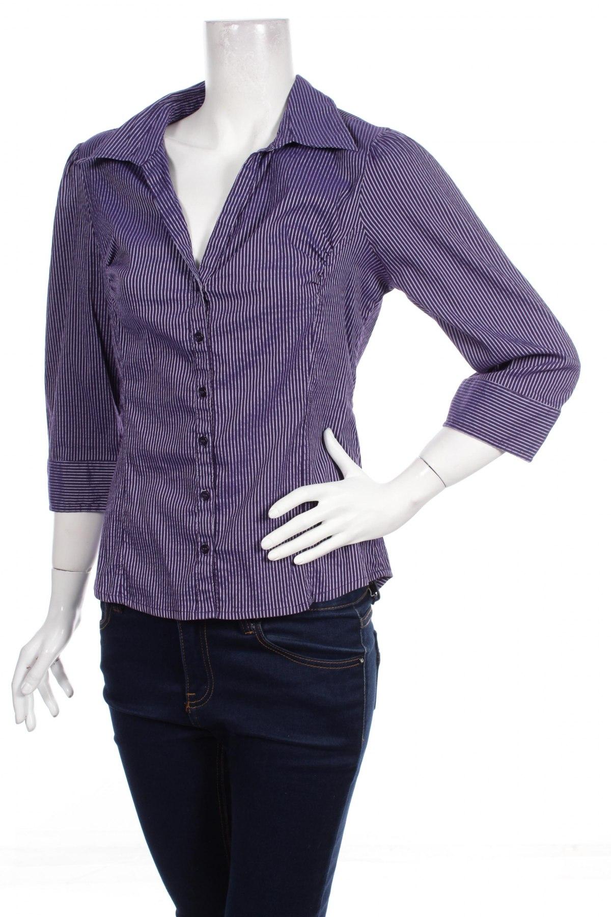 Γυναικείο πουκάμισο H&M, Μέγεθος L, Χρώμα Βιολετί, Τιμή 15,46€