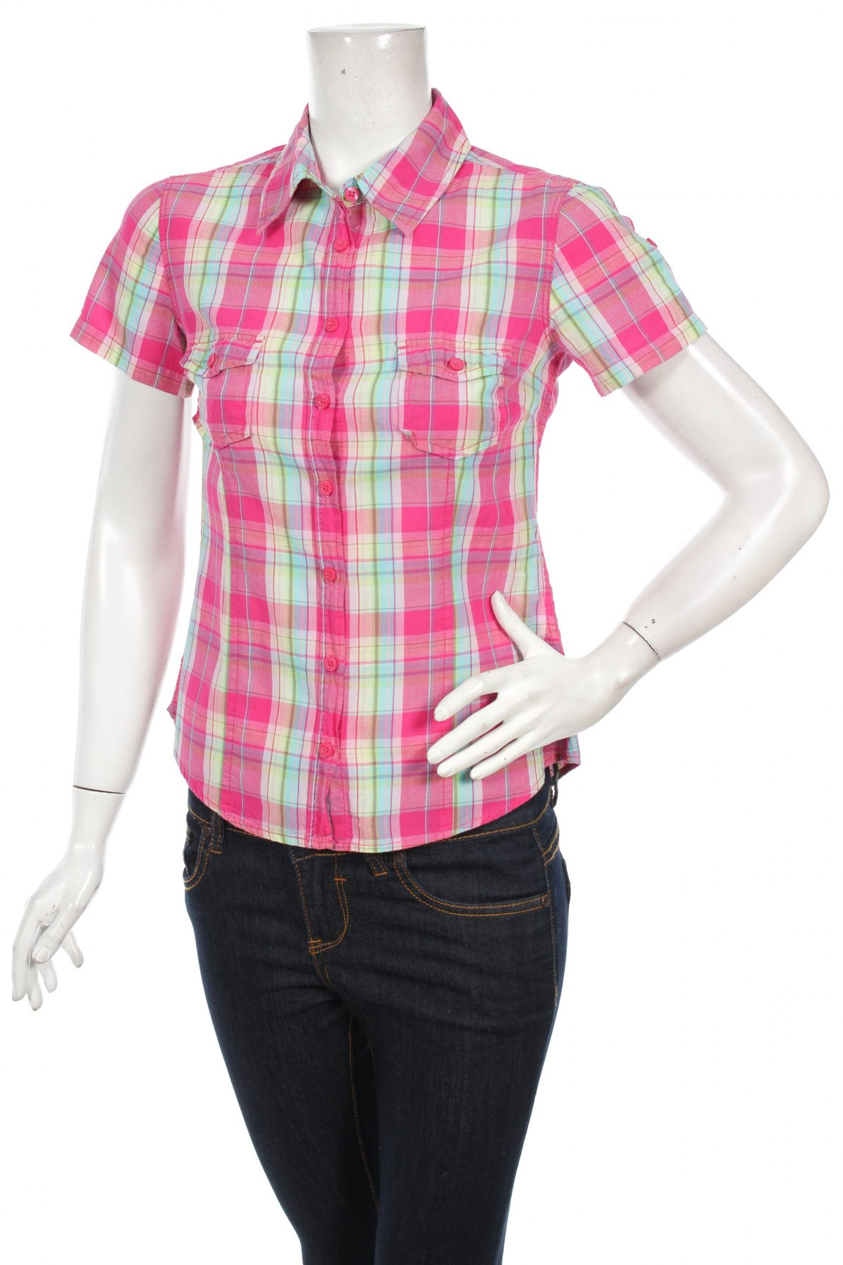 Γυναικείο πουκάμισο H&M L.o.g.g, Μέγεθος S, Χρώμα Πολύχρωμο, Βαμβάκι, Τιμή 9,90€