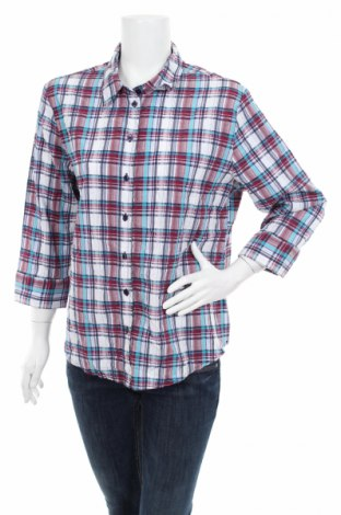 Дамска риза Carroll Reed, Размер XL, Цвят Многоцветен, 51% памук, 48% полиестер, 1% еластан, Цена 16,00лв.