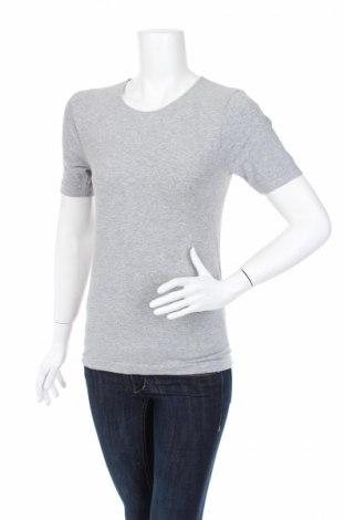 Дамска тениска Skin To Skin, Размер M, Цвят Сив, 84% памук, 9% полиамид, 7% еластан, Цена 4,00лв.