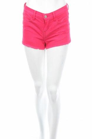 Дамски къс панталон Abercrombie & Fitch, Размер XS, Цвят Розов, Памук, Цена 72,00лв.