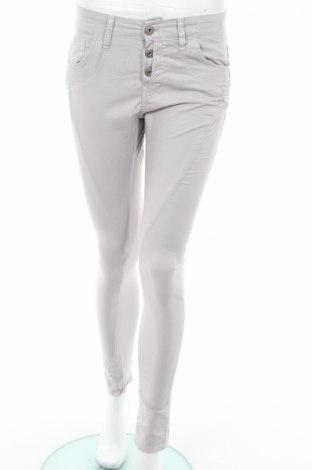 Дамски панталон Gang, Размер S, Цвят Сив, 97% памук, 3% еластан, Цена 45,00лв.