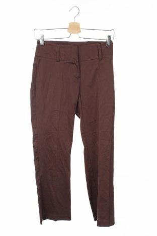 Дамски панталон Just, Размер XS, Цвят Кафяв, 97% памук, 3% еластан, Цена 10,16лв.