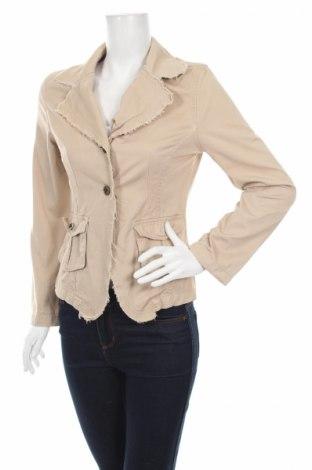 Γυναικείο σακάκι Cherokee, Μέγεθος S, Χρώμα  Μπέζ, Βαμβάκι, Τιμή 6,19€