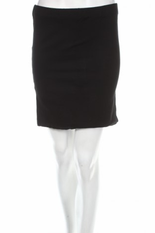 Пола, Размер M, Цвят Черен, 70% памук, 27% полиамид, 3% еластан, Цена 5,00лв.