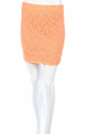 Пола Amisu, Размер S, Цвят Оранжев, 100% полиестер, Цена 5,44лв.