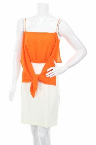 Šaty  Annarita N, Veľkosť M, Farba Oranžová, 95% polyester, 5% elastan, Cena  56,39€
