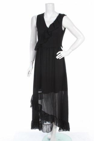 Šaty  Liu Jo, Veľkosť L, Farba Čierna, 100% polyester, Cena  60,83€