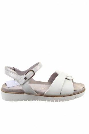 Papuci de casă Tamaris, Mărime 39, Culoare Gri, Piele naturală, Preț 135,13 Lei