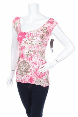 Дамска блуза Almost Famous, Размер S, Цвят Многоцветен, 50% памук, 47% полиестер, 3% еластан, Цена 6,56лв.