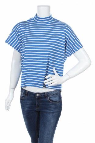 Дамска блуза America Today, Размер S, Цвят Син, 57% памук, 40% вискоза, 3% еластан, Цена 4,50лв.