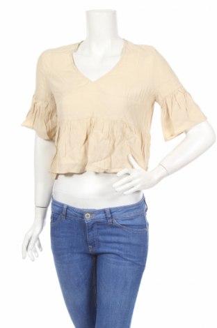 Дамска блуза American Vintage, Размер S, Цвят Бежов, Вискоза, Цена 6,30лв.